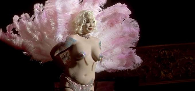 Tournée film francese sul burlesque