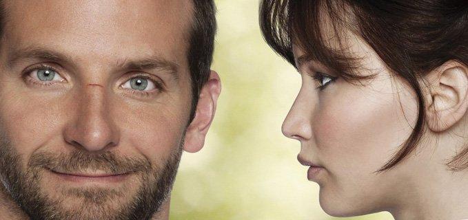 Bradley Cooper e Jennifer Lawrence nel film Il lato positivo