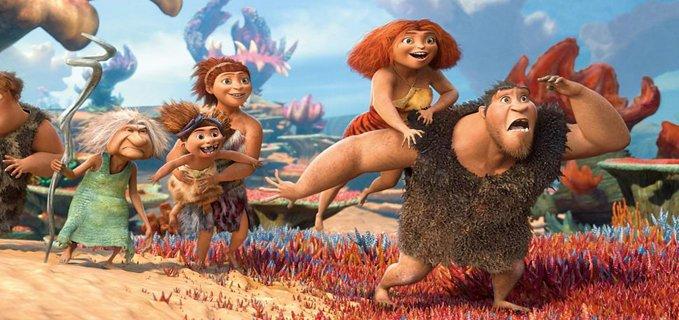 uomini preistorici dal film I Croods