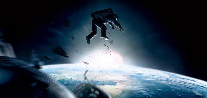 gravity film nello spazio