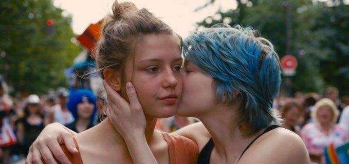 bacio tra ragazze in La vita di Adele di Abdellatif Kechiche