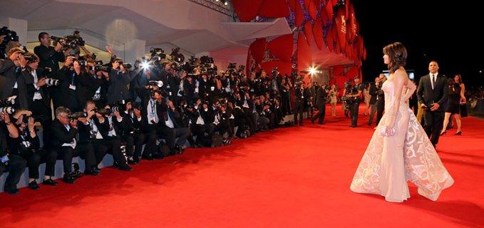 venezia cinema red carpet