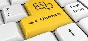 Commento e commenti al blog di cinema