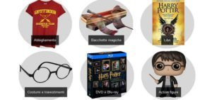 Harry Potter Store tra bacchette, vestiti, action figure