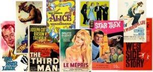 Locandine film vintage, 9 poster da collezione!