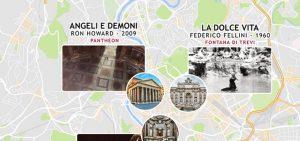 Roma e il cinema, Roma è il cinema: cineturismo nella città eterna