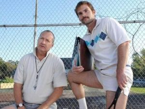 film sul tennis Balls Out con Seann William Scott