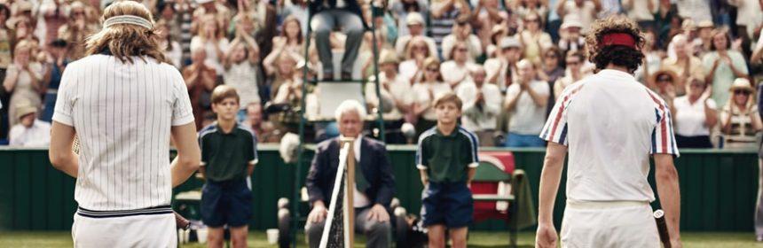 film sul tennis Borg McEnroe