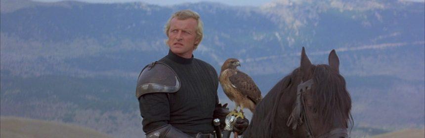 dove è stato girato ladyhawke col falco