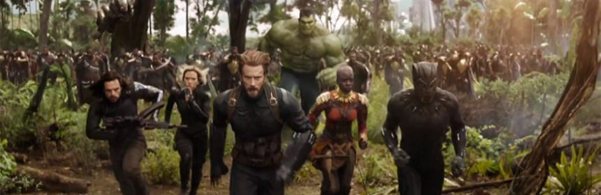 i personaggi di avengers infinity war