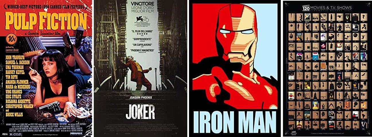 poster di cinema su amazon