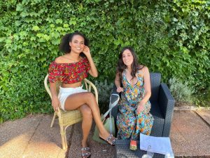 Indira Andrewin e Yulene Olaizola